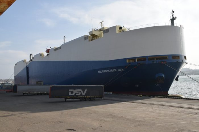 Neptunes Lines discharged at record speed at Chornomorsk