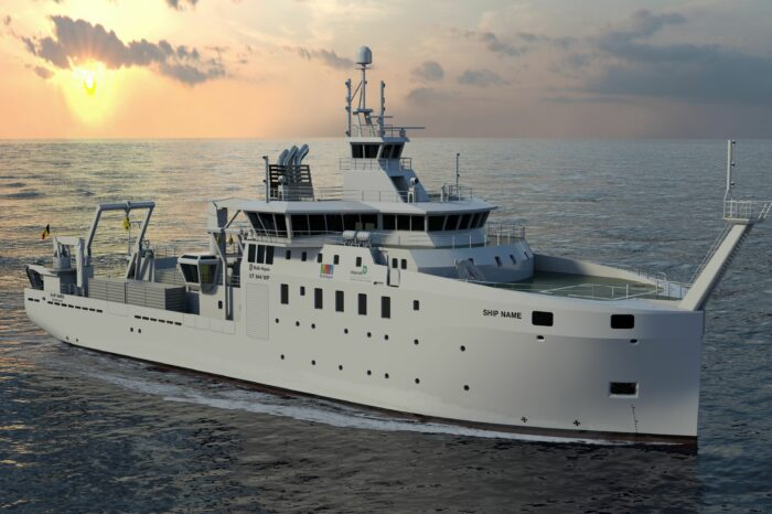 Ukraine will receive an exploration vessel from Belgium