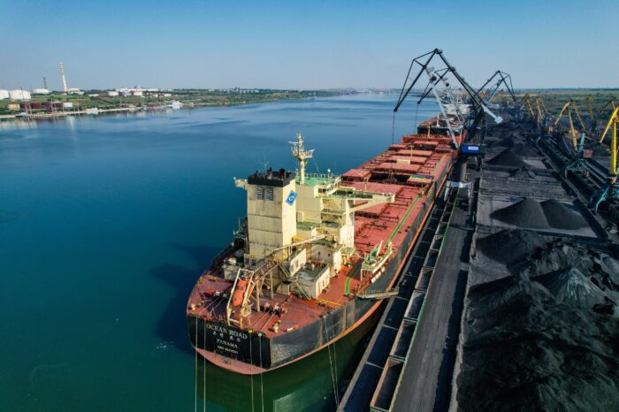 Yuzhny port transshipped 9 million tons of cargo in seven months