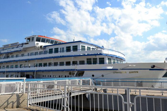 "Ukrainian cruise vessel ""Princessa Dnepra"" has been sold to Russia"
