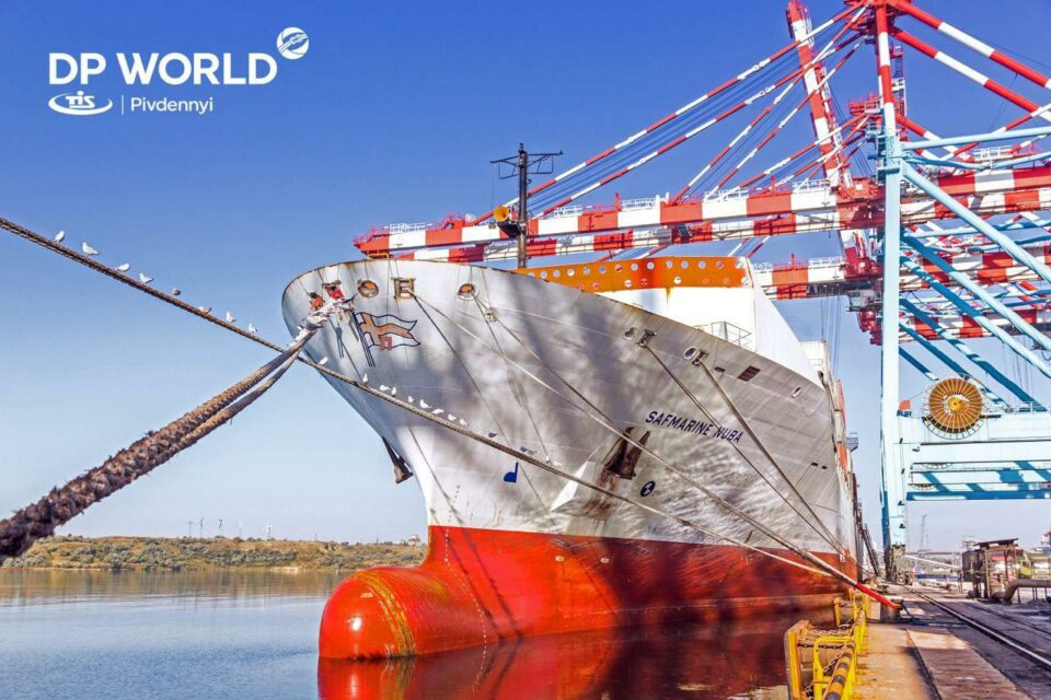 Maersk service connected the port of Pivdennyi and Port-Said