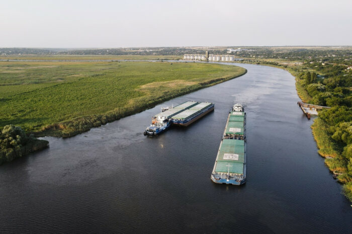Nibulon has transported a record amount of cargo along the river
