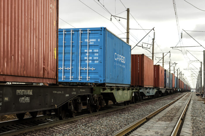 Container train was sent to Kyiv from Chongqing, China, for the first time